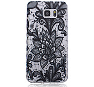 nuevas olas de patrones de encaje deslizan caso del tpu softphone mango para Samsung Galaxy Note 5/4/3
