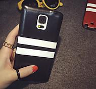 simples franja para trás estojo de couro pu para Samsung Galaxy Nota3 / Nota4