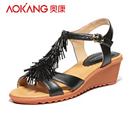 Aokang® Women's Leather Sandals - 132823367