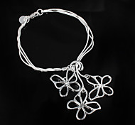 "Fashion ""Butterfly"" 925 Silver Party Chain & Link Bracelets For Woman&Lady"