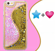 S Dtar Heart Wall Quicksand Cases for iPhone 5/5S(Assorted Colors)