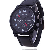 Men's Watch MILER Fashion Belt Watch Six Eye Three Pin Design Waterproof Quartz Watch Cool Watch Unique Watch