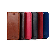 2015 Fashion Character Flip PU Leather Cover for iPhone 4/4S(Assorted Colors)