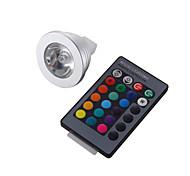 3W GU5.3(MR16) LED Spot Lampen MR16 1 High Power LED 260 lm RGB Ferngesteuert / Dekorativ DC 12 V 1 Stück