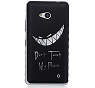 Vampire Pattern Material TPU Phone Case for Nokia N640