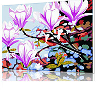DIY Digital Oil Painting  Frame Family Fun Painting All By Myself   Morning Evening Song  X5053