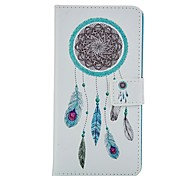 Wind Chime Pattern Card Stand Leather Case for Huawei P8/P8Lite
