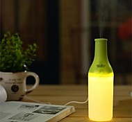 Warm Light Night Light USB Mini Water Bottles Humidifier (Assorted Color)