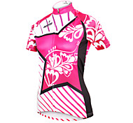 ilpaladinoSport Women Short Sleeve Cycling Jersey New Style Star Flower  DX604 100% Polyester