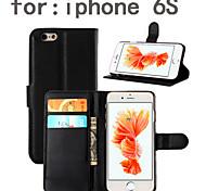 grano litchi pu cintura pelle scatola del movimento / Shell posteriore coperchio di protezione per apple iphone6s cellulare