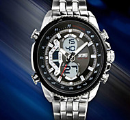 Men's Watches LED  Sports Watches Waterproof  Multifunction Wristwatch Gift Idea