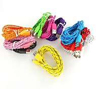 1m Braid USB to Micro USB Cable for Android Phone for Samsung