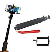 Extender Telescoping Monopod Pole + Clip Bracket Mount Holder for Cell Phone and Gopro Camera  Digital Camera