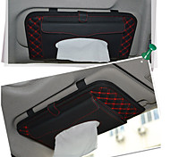 Car Decoration  High-Grade Visor CD Paper Towel Box Of Tissues To Smoke CD Bag Auto Supplies Tissue Boxes