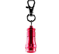 1W 450LM Mini Flashlight Key Chain Red Aluminium Alloy (Assorted-color)