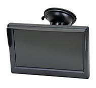 """5 """"TFT Auto LCD-Schirm Rückseiten-Unterstützung für Kamera DVD VCD überwachen"""