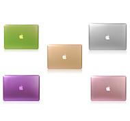 einfarbig faltbare Festganzkörper-Fallabdeckung für 13/15 Zoll Apple MacBook Pro mit Retina-Display (Farbe sortiert)