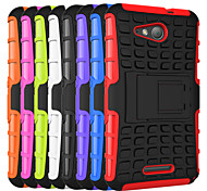 HHMM 2in1 Plastic and TPU Accessory Bracket Cover Case For Sony Xperia E4G (Assorted Colors)