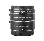 kooka kk-ft47 af Makro Verlängerungsrohre für Olympus Panasonic micro 4/3 (10mm, 16mm, 21mm) spiegellose Kameras