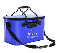 Fisherman Waterproof Foldable Fishing Bucket Fishing Tackle Box 35*24*24cm