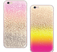 maycari®shining TPU caso para el iphone 6 6s / iphone (colores surtidos)