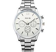 Men's Fashion Stainless Steel Quartz Casual Wrist Watch