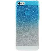 Água 3D gotas Padrão Hard Case protetora para iPhone 5C (cores sortidas)