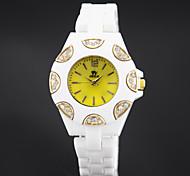 Women's Fashion Personality Quartz Plastic Watch(Assorted Colors)