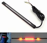 multifunzione universale moto 12v freno coda stop girare licenza segnale luce targa integrato 3258 32LED striscia luminosa