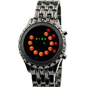 Men's Watches LED arc-en- Strip Sports Watches Waterproof  Wristwatch Gift Idea