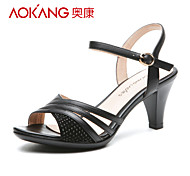 Aokang® Women's Leather Sandals - 132812030