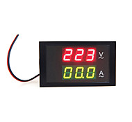 Digital LED Voltage Meter Ammeter Voltmeter with Current Transformer AC80-300V 0-100.0A Dual Display