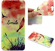 Feather Pattern TPU Soft Case for HTC A9