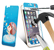 """2 In 1 Night Luminous Tempered Glass Lovely Cartoon Design Evening Light Protective Film For iPhone6&6S 4.7"""""""