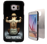 Personalized Case - Boy Design Metal Case for Samsung Galaxy S6/ S6 edge/ note 5/ A8 and others