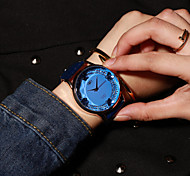 Korea Large Dial New Women Analog Quartz Wrist Dress Watch Vintage Sport Student Watch Couple Watch(Assorted Colors)
