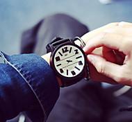 Masculino Relógio de Pulso Quartz Silicone Banda marca-