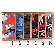 Camouflage Pattern High Quality Cowboy Wallet Leather Case for iPhone 6/iPhone 6S(Assorted Colors)