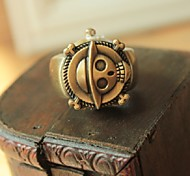 Fashion New Style  Personality Animal Shape Alloy Hot Sales Ring Watch(bronze)(1Pc)