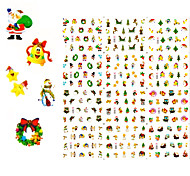 1Pcs Christmas Nail Sticker Serie Water Transfer Nail Art Stickers For Nail Stickers Decals 2 Style Choosing