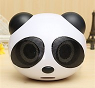 Cute Panda Shape Portable Stereo Speaker For Desktop Laptop Notebook Cellphone