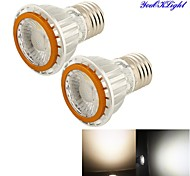 2 Stück YouOKLight Dekorativ Spot Lampen A50 E26/E27 5 / 7 W 600 LM 3000/6500 K COB COB Warmes Weiß / Kühles Weiß AC 85-265 V