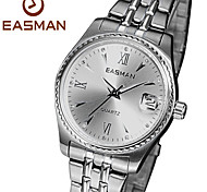 EASMAN® Brand Womens Watches 2015 Fashion Hot Designer Silver Wristwatches Luxury Quartz Watch For Women Ladies Watch Cool Watches Unique Watches