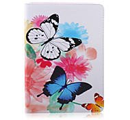 The Butterfly  Pattern  Stent Case for iPad Air