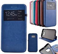 ma loco wen cuero de la PU caso de cuerpo completo con correa y personalizado para el Samsung Galaxy S5 / S6 / S6 borde