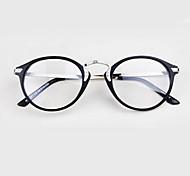 [Free Lenses]   Unisex 's Metal Round Full-Rim Fashion Prescription Eyeglasses