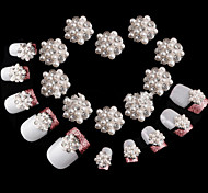 10pcs  Nail Alloy Jewelry