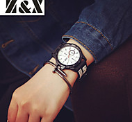 Men's Fashion Personality Silicone Quartz Analog Sport Watch(Assorted Colors)