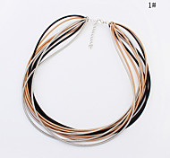 European Style Fashion Simple Layers Necklace