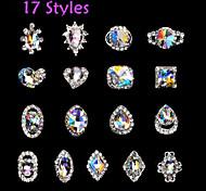 1Pcs - Bijoux pour ongles - Doigt - en Punk - 2*2*0.5